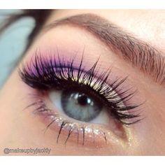 Beautiful Tangled makeup look