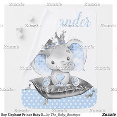 Boy Elephant Prince Baby Blankets Elephant Baby Blanket, Polka Dot Background, Soft Baby Blankets, Baby Boutique, Consumer Products, Cool Patterns, Snuggles, Nursery Decor, Colorful Backgrounds