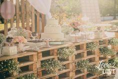 Las Cumadres - casamento rústico   vintage wedding decor