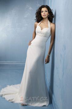 Okouzlující+Hruška+Světle+šedá+Bez+pasu+Bez+rukávů+Svatební+šaty