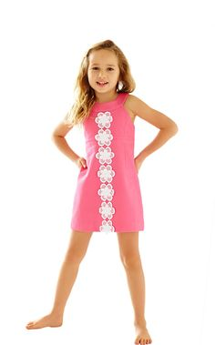 The Little Jacqueline Shift is just like the Jacqueline for you - classic style and shape just for your Little!
