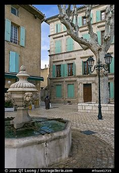 I stayed at a hotel overlooking this square. Orange ~ Provence