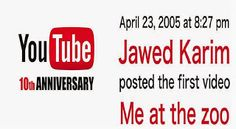 10 ANOS DE YOUTUBE