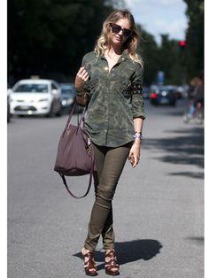 Milan Fashion Week Street Style Spring 2013 - Spring Fashion Week Street Style - Marie Claire