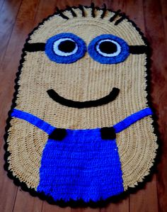 Tapetes Criativos: TAPETE MINIONS Minion rug (Despicable Me)