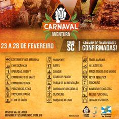 Carnaval Aventura em Timbó – Portal Timbó NetPortal Timbó Net