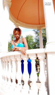 Model shoot with Jecolia in Uptown Altamonte, Florida. Photos taken by Taja Nicole Photography.