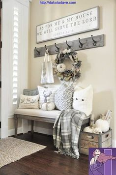Farmhouse Living Room Decor 73 Farmhouse Style Decor Project Ideas & Project Difficulty:Simple & www.MaritimeVinta& & How To Decorating Tips & The post Farmhouse Living Room Decor 73 appeared first on Suggestions. Easy Home Decor, Cheap Home Decor, Simple Living Room Decor, Loving Room Decor, Diy House Decor, Living Room Bench, Romantic Home Decor, Rustic Farmhouse Entryway, Southern Farmhouse