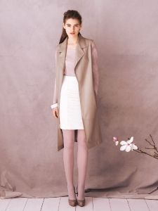 Burda Style: Damen - Westen - Lange Westen - Longweste - Nappaleder