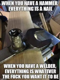 Double tap if it is true . Join fb group in bio for more cool stuff about welding and metal fabrication