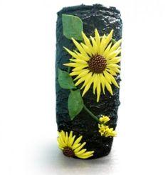 Terracotta vase  - Decorative