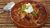 Chili.  It's fantastic. Takes a while, but the hardest part is chopping the veggies. Makes a crap ton-- you'll be eating it for a few days.