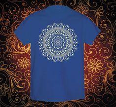 Mandala Flor de la vida  Playera con mandala  por ArteImMrAmA
