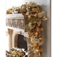 seaside Christmas garland - so cool!