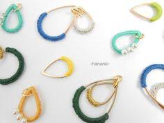 -hanaroi-のiroiro② イヤリング(ピアス)