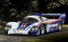 Porsche 956-001 Works - part of the Historic Porsche Collection... Loved watching this car compete!
