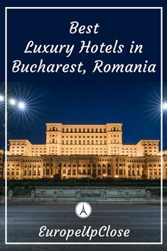 Where To stay in Bucharest - Luxury Hotels in Bucharest European Vacation, European Destination, European Travel, Travel Tips For Europe, Travel Destinations, Travel Plan, Travel Advice, Romania Travel, Best Hotels