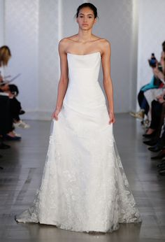The Prettiest Spring 2017 Wedding Dresses from Bridal Fashion Week - Oscar de la Renta from InStyle.com