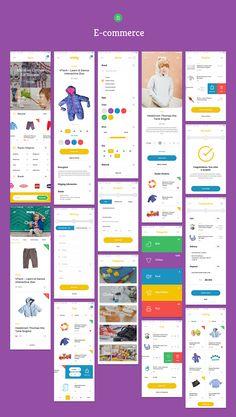 Weeny iOS UI Kit on App Design Served
