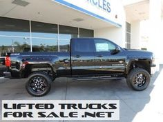 2014 Chevy Silverado 1500 LT Southern Comfort Black Widow Lifted Truck