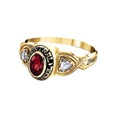 nra 10k collegiate style rings jewelry gifts official store of