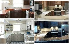 There is no need to spend to much money on updating your kitchen when 9/10 painting them will transform the way you kitchen looks for a couple of hundred dollars. This article also show us cabinet paints,