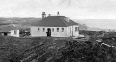 Tour Scotland Photographs: Old Photograph Golf Clubhouse, Portpatrick, Dumfries and Galloway, Scotland