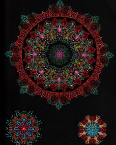 """This  is  a  page  from """"The  Secret  Mandala"""", The  Midnight  Edition  by  @sturoyce, coloured  entirely  with  @spectrumnoir markers .  Hopefully  I  won't  go  as long  between  posts  again .  I should  have  the  medical  stuff  sorted (mostly lol) so  it  won't  distract  me  so  much .  #adultcoloring  #adultcoloringbook  #bigkidcoloring  #coloringforadults  #colouringbook  #colouringforgrownups  #colouringformeditation  #stressreliever  #artfulmeditation  #art  #colours  #rainbow…"""