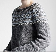 Fair Isle Knitting Patterns, Sweater Knitting Patterns, Lace Knitting, Knitting Designs, Knitting Stitches, Knit Patterns, Knit Crochet, Norwegian Knitting, Nordic Sweater