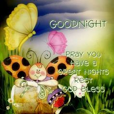 Good Night my Sweet Angel SistersMay you rest secure in the knowledge Our Lord is watching over youI hope you had a happy day We celebrated my Grandsons 2nd birthday Parents are having his party on Saturday  We brought our two oldest grandsons home with us for a sleepover  we so enjoy them What did you do today? Love & hugs  ✨¥!ck!€