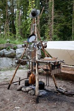 Now that's a camp kitchen ...agree?