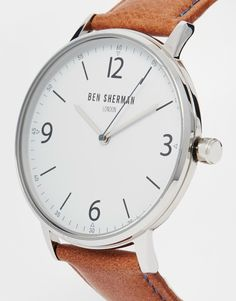 Image 2 ofBen Sherman Leather Strap Watch