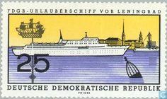 1960 GDR - Holiday Ships
