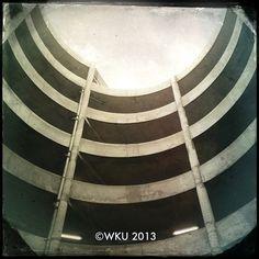 Looking up from PS1. #WKU (at PS1 / Facilities Management)