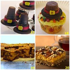 thanksgiving cupcake ideas   20 SWEET Thanksgiving Treat Ideas For Kids - The Kid's Fun Review