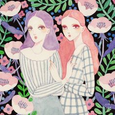 Ayumi_Miyahara_Killing_Time_Tumblr_Watercolour_Illustrations_10