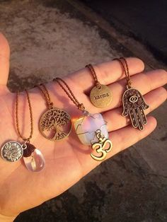 cool necklaces. love the tree of life type looking one
