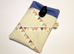 Fabric iPhone sleeve iPhone case iPhone pouch by Enchantingcrafts, £10.00