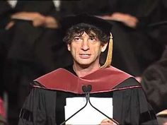 The most amazing commencement speech ever was given by him.   23 Reasons Neil Gaiman Is The Coolest Author Around