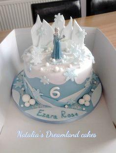 Disney themed cakes ombre cake frozen birthday cake birthday cake decorating within ombre birthday cake party supplies ideas Elsa Birthday Cake, Frozen Themed Birthday Cake, Disney Themed Cakes, Frozen Theme Cake, 3rd Birthday, Frozen Birthday Dress, Frozen Cake Decorations, Disney Birthday, Tarta Frozen Disney