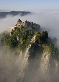 Château de Joux - Jura mountains, France