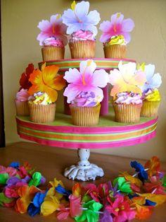 Poolside Luau Birthday Party Ideas Luau Gender reveal and Gender