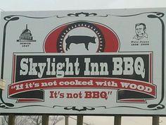 Skylight Inn - Ayden, NC