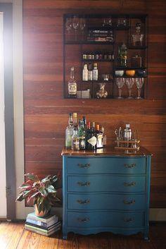 New bar setup. Blog post here: http://oakdaleonward.com/2014/01/26/raising-the-bar/