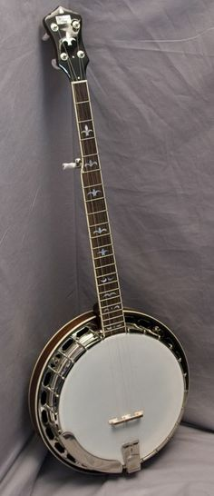 "Recording King RK-36 ""Madison Deluxe Mahogany"" 5-String Banjo"