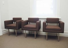 The fitout for Heal involved converting a traditional house into a multi-functional yet unified podiatry clinic Arm Chairs, Traditional House, Furniture Design, Objects, Table, Home Decor, Wing Chairs, Decoration Home, Armchairs