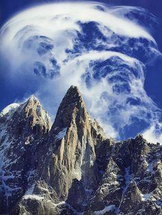 Les Drus, Chamonix, from Alpinist 50th Anniversary issue
