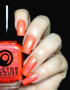 Doctor Lacquer Kaleidoscope World collection Lycopene