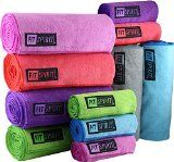 Fit Spirit® Set of 2 Super Absorbent Microfiber Non Slip Skidless Yoga Towel (24 - http://47yoga.com/fit-spirit-set-of-2-super-absorbent-microfiber-non-slip-skidless-yoga-towel-24/  Fit Spirit® Set of 2 Super Absorbent Microfiber Non Slip Skidless Yoga Towel (24   Package Includes: 2x Large Yoga Mat Towels and 2x Small Yoga Hand Towels  Product Details  Wipe away your beads of perspiration and soak up any sweat and moisture with Fit Spirit's multifunctional ultra ..