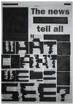 [Designer - Unknown] Anti Censorship poster campaign. Questioning whether what you can read in newspapers is fact or controlled media.